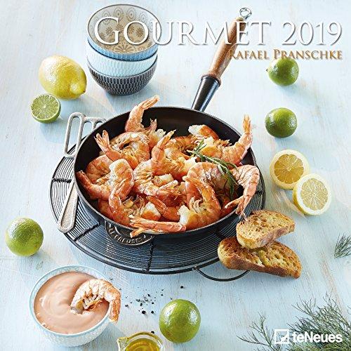 Gourmet 2019 - Foodkalender, Wandkalender, Küchenkalender  -  30 x 30 cm