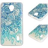 Para Huawei Ascend Y635 (5 pulgadas) Cáscara ZeWoo® Carcasa y Funda de Silicona - YG009 / hojas azules