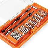 INTEY Tournevis de Précision, 58 en 1 Kit de Tournevis avec 54 Embouts Kit de Réparation de Matériel Electronique pour Smarphone, PC, tablette,Macbook, Montre