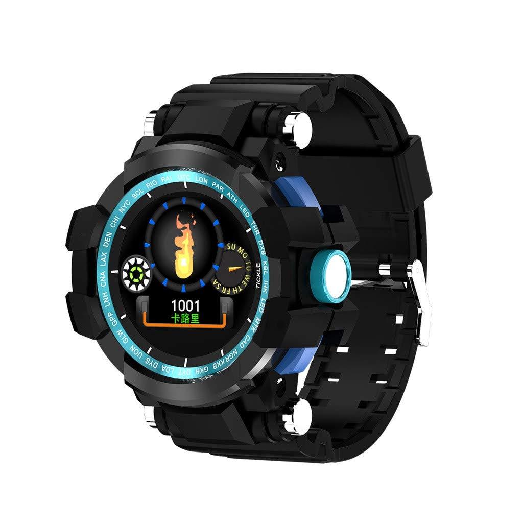 12shage Reloj Inteligente Hombre, IP68 Smartwatch con Pulsera Actividad Reloj Deportivo Monitor de Sueño Pulsómetro… 1