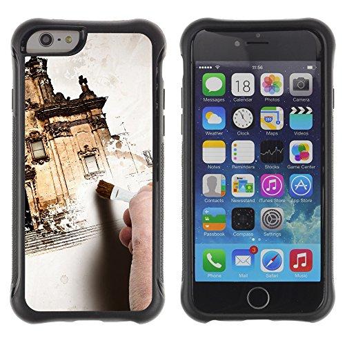 Graphic4You Amerikanisches Geld Design Shockproof Anti-Rutsch Weichen Hülle Case Tasche Schutzhülle für Apple iPhone 6 Plus / 6S Plus Design #9