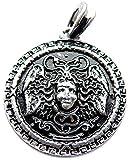 Medusa Anhänger (Kettenanhänger in Silber) | 925 Sterling Silber Veredelung
