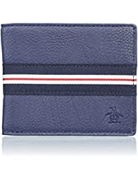 Original Penguin Classic Monedero, 22 cm, Azul (Dark Denim)