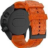 WIIKAI Cinturino Compatibile per SUUNTO 9 Baro/SUUNTO 9 Regolabile di Ricambio Bracciale.