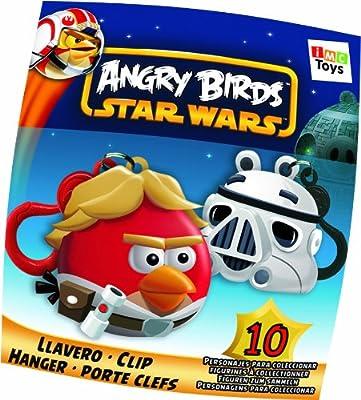 IMC Toys - 35300 - Porte-Clés Figurines Angry Birds Edition Star Wars - Modèle aléatoire