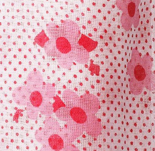 Piccalilly Bio-Baumwolle Rosa Mädchen Ditsy Punkten Musselin Pucktuch 120x120cm