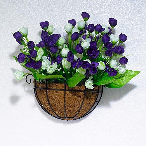 Beata.T Fresca insalata verde girasole emulazione fiore artificiale Flower Garden tavolo Balcone Aria condizionata, TV (Giardino Insalata Fresca)