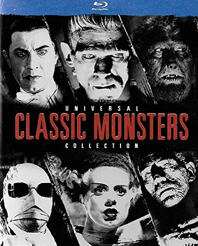 Universal Classic Monsters Collection (Dracula/Frankenstein/The Mummy/The Invisible Man/The Bride of Frankenstein/The Wolf Man) [Blu-ray]