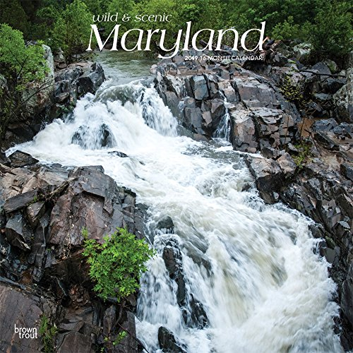 Maryland Wild & Scenic 2019 Square por Inc Browntrout Publishers