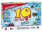 Grandi Giochi GG90023 - 10 Giochi Riuniti