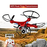 Webla -HD Quadricoptère Rc Drone WIFI Grand Angle Live Fpv Hélicoptère Hover Live...