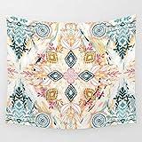 LLP LM Wohnzimmer Hippie Wandteppiche,Baumwollfaden Teppich Tapisserie Drucken Wandbehang Badetuch Bettdecke Bettdecke Tapisserie, b