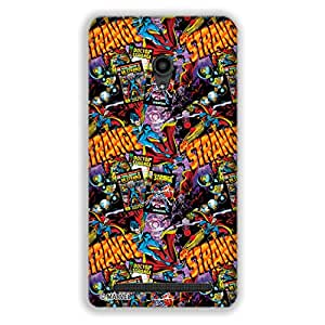 Marvel Civil War PBMARCOMAZ6207 Dr. Strange Back Cover for Asus Zenfone 6 (Multicolor)