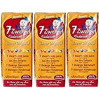 Voelkel Jus pour Enfant 7 Fruits Mini Tetrapack Bio 3 x 200 ml