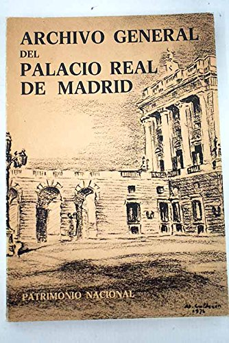 Archivo General del Palacio Real de Madrid por Conrado Morterero Simón