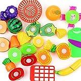 Kinder spielen Fast Food Toys, mamum Schneiden Fast Food Pretend Play Kinder Spielset Geschenk Lernspielzeug Einheitsgröße 17pc