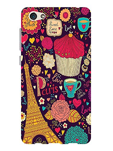 TREECASE Designer Printed Soft Silicone Back Case Cover For Gionee S6