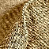 Tela por metros de arpillera/saco - Yute - Manualidades, Costura | Color Natural