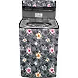 Stylista Washing Machine Cover Compatible for LG 6.5 Kg Smart Inverter Fully-Automatic Top Loading T65SNSF1Z Grey