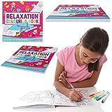 GirlZone REGALO RAGAZZA LIBRO DA COLORARE PER BAMBINE: Quaderno da colorare per gioco creativo - Con 40 bellissimi disegni da colorare - Album da colorare per bambini - Regali per bimbe e ragazze di tutte le età: 6 7 8 9 10 11 anni