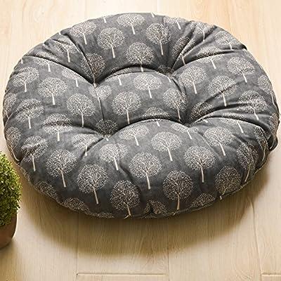 Chair pad/cushions/ student cushion/linen futon mat/cushion flooring-C diameter50cm(20inch)