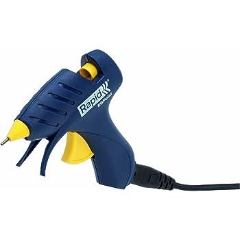 Rapid POINT Pistolet à colle thermofusible sans fil avec buse de précision Bleu