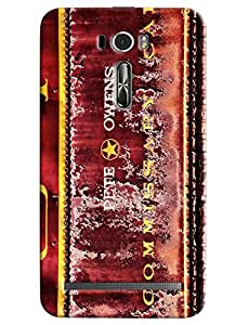 Expert Deal Best Quality 3D Printed Hard Designer Back Cover For Asus Zenfone 2 Laser ZE601KL