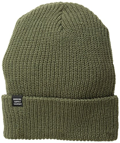 Cap Knit Army (Herschel Supply Co. Herren Quarz-Knit Beanie Gr. Eins Größe (US Größe), army)