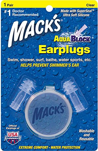 macks-aqua-block-ear-plugs-clear-2-pairs