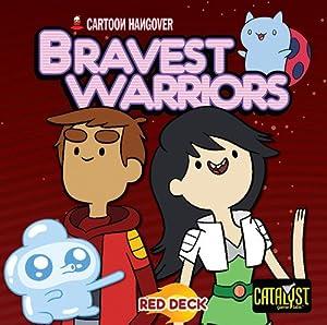 Catalyst Game Labs CAT73001 Encounters Bravest Warriors Juego de Dados Rojo.