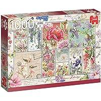 Jumbo - Sellos de Flores Puzzle de 1000 piezas (18597.0)