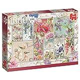 Premium Collection 18597Blumen Briefmarken Puzzle