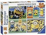 Ravensburger 07395 - Minion: Ich unverbsserlich - 4 x 100 Teile Kinderpuzzle