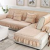 cojines de sofá de estilo europeo/-Esquí Rainier sofá de la tela cuatro temporadas mat/ toallas de felpa sofá simple y moderna sala de estar-C 65x70cm(26x28inch)