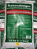 Beckmann Rasendünger plus UV mit Langzeitwirkung 25 Kg