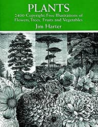 Plants: 2,400 Royalty-Free Illustrations of Flowers, Trees, Fruits and Vegetables (Dover Pictorial Archive) (1998-04-21)