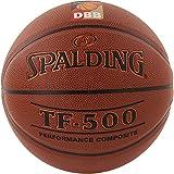 Spalding Basketball Tf500 Dbb Indoor (74-590z) Ball, orange, 6