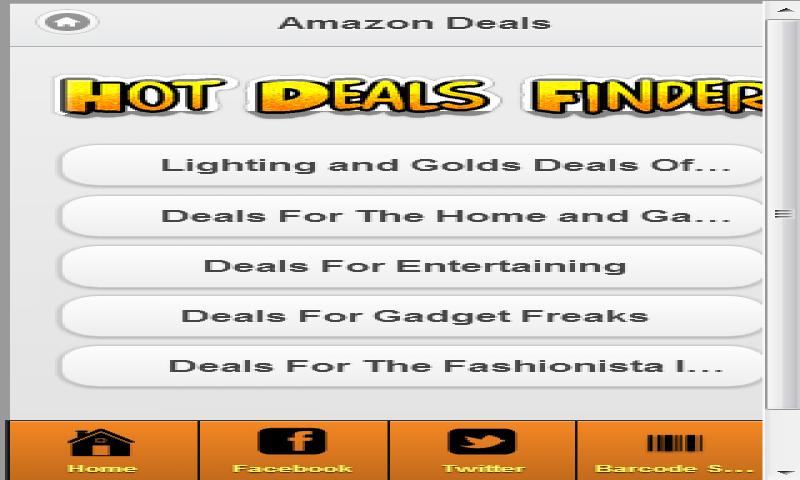 Deals search uk