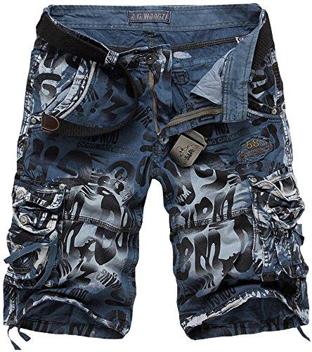 Fashciaga -  Pantaloncini  - Uomo Blu