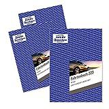 AVERY Zweckform 223-5 Fahrtenbuch (für PKW, vom Finanzamt anerkannt, A5, 80 Seiten insgesamt 858 Fahrten, für Deutschland und Österreich zur Abgrenzung privater/geschäftlicher Fahrten) 5er-Pack