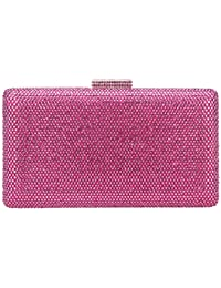 Bonjanvye Crystal Clutch Party Purses for Women Evening Bags and Clutches