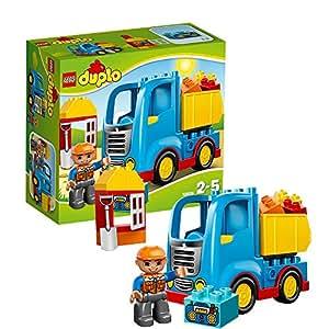lego duplo ville 10529 jeu de construction le camion de chantier jeux et jouets. Black Bedroom Furniture Sets. Home Design Ideas