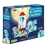 Scarica Libro Il razzo lunare Incastra e costruisci Libro puzzle (PDF,EPUB,MOBI) Online Italiano Gratis