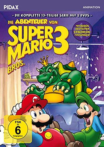 Die Abenteuer von Super Mario Bros. 3 / Die komplette 13-teilige Serie mit dem berühmtesten Videospiel-Duo der Welt (Pidax Animation) [2 DVDs]