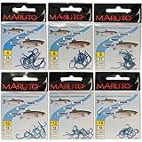Maruto Forellenhaken Forellen Haken Forellenangeln mit Plättchen