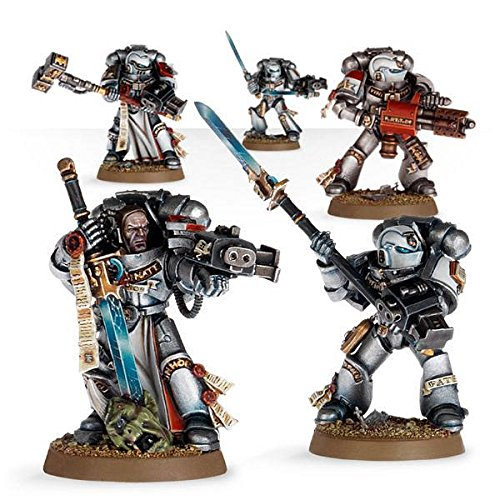 Games Workshop Warhammer 40k Grey Knights Purifier Squad Grey Knight