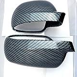 Set Spiegelkappen passend für Golf 4 Carbon-Optik