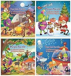 Purple Turtle Rhymes Pack Of 4
