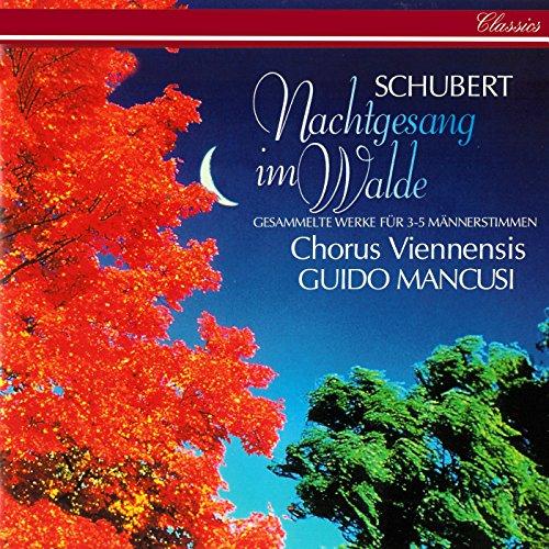 Schubert: Nachtgesang im Walde