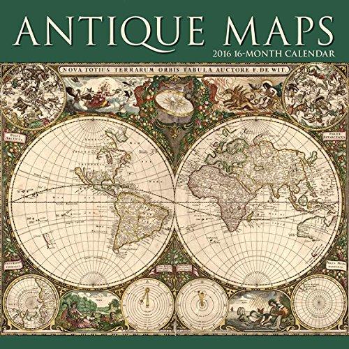 Antique Maps W 2016 Calendar (Square Stapled)